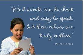 speak kind words to yourself like you to do everyone else